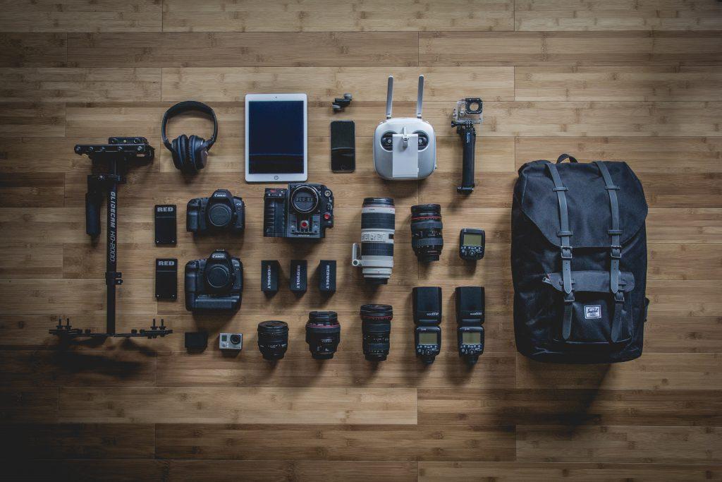 Kameraausstattung für den Urlaub