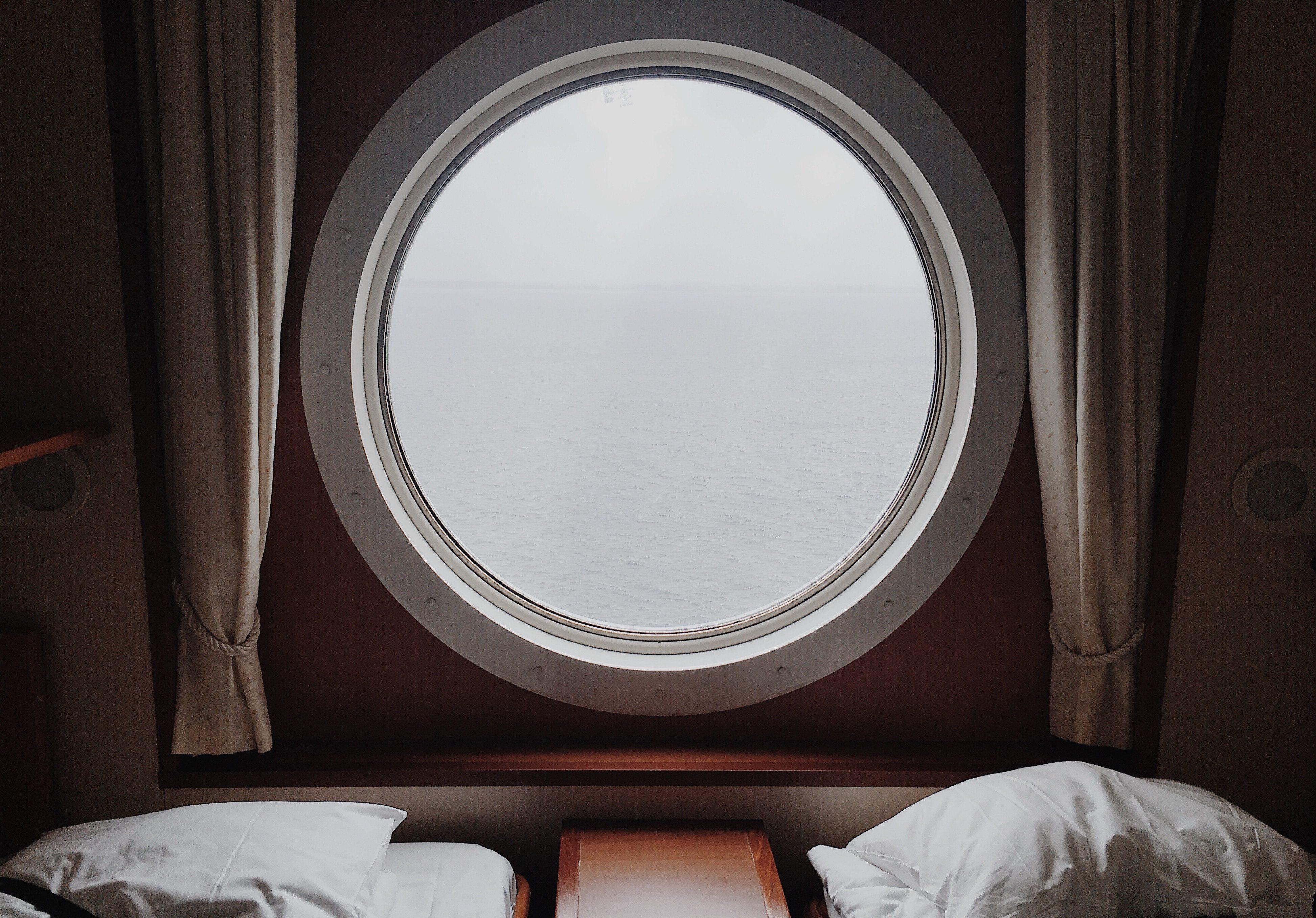 Seekrankheit - Wahl der Kabine