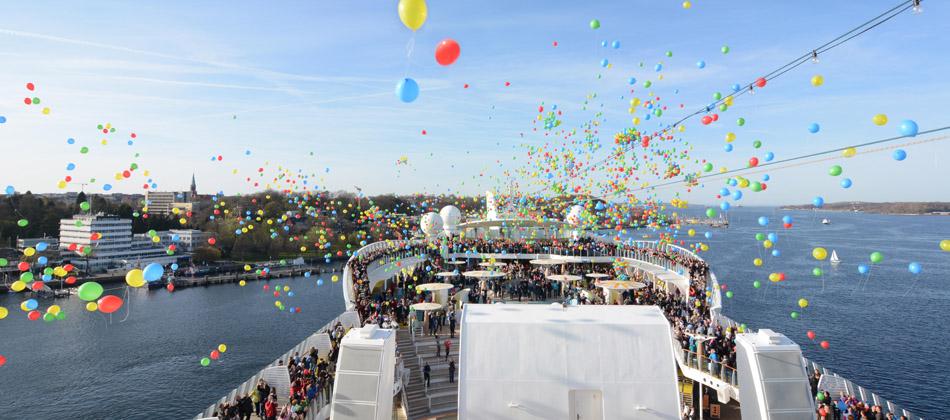 AIDA - bunte Luftballons