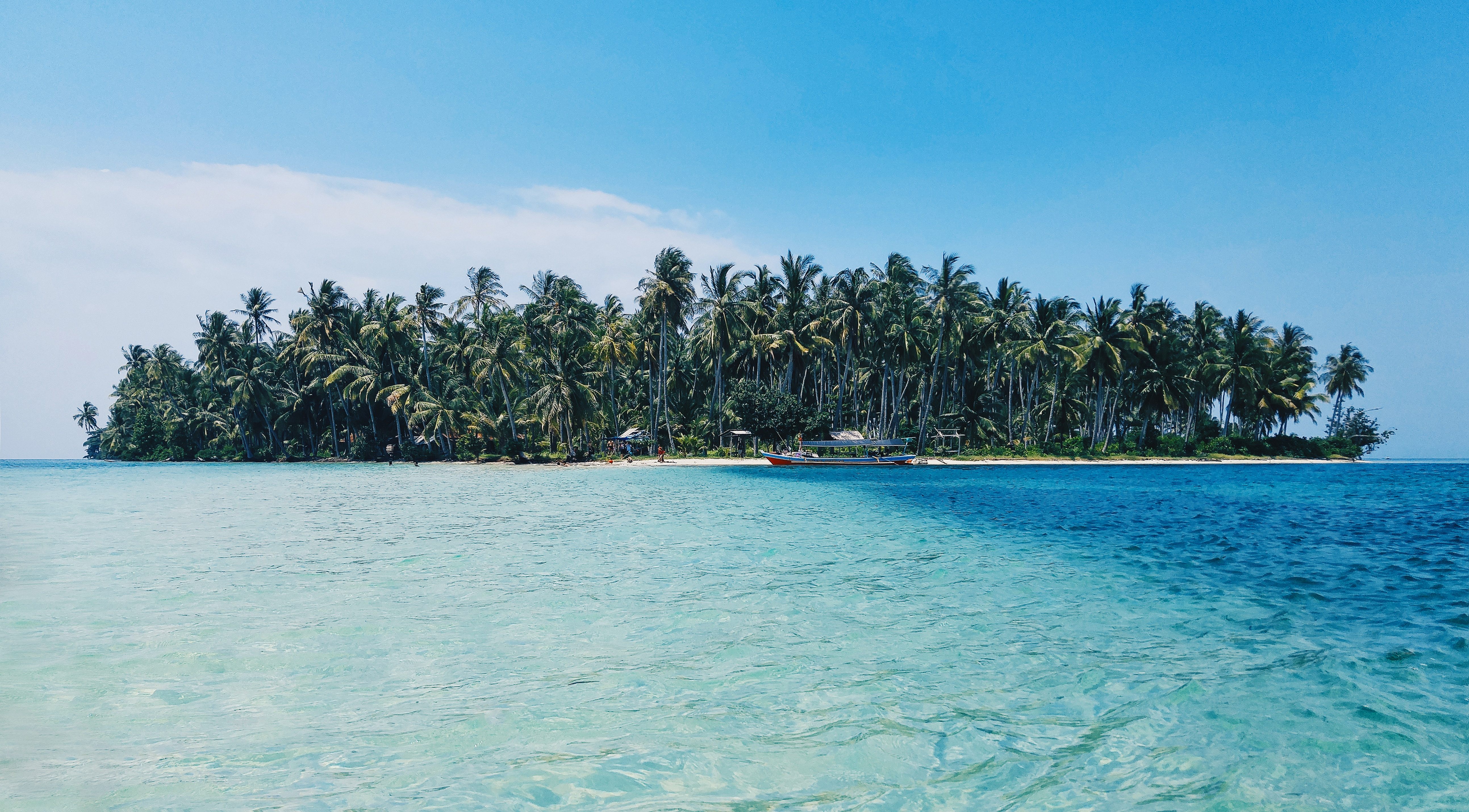Insel auf dem Meer