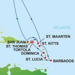 12/14 Tage Südliche Karibik ab New York