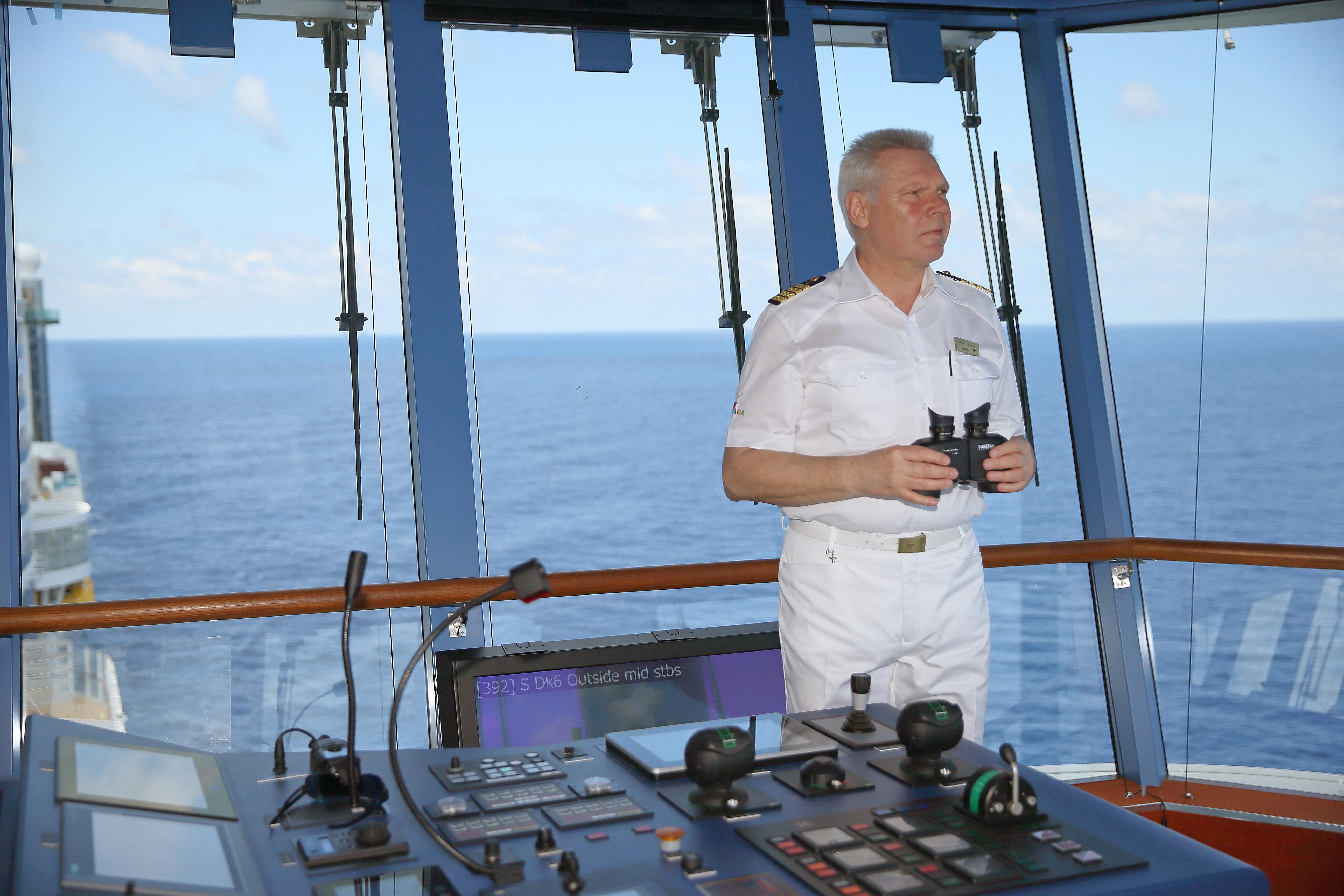 Kapitän Detlef Harms