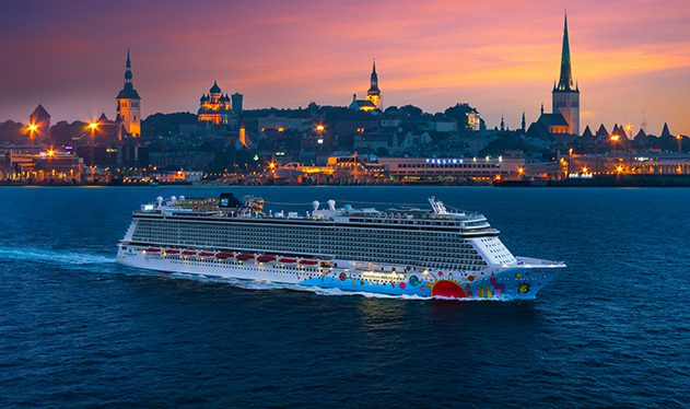 Norwegian Breakaway in Tallinn