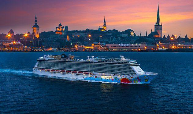 Norwegian Breakaway in Tallinn