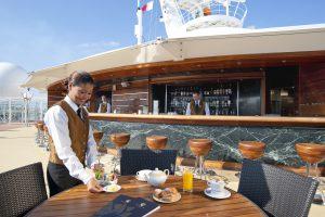 MSC Yacht Club Außenbar