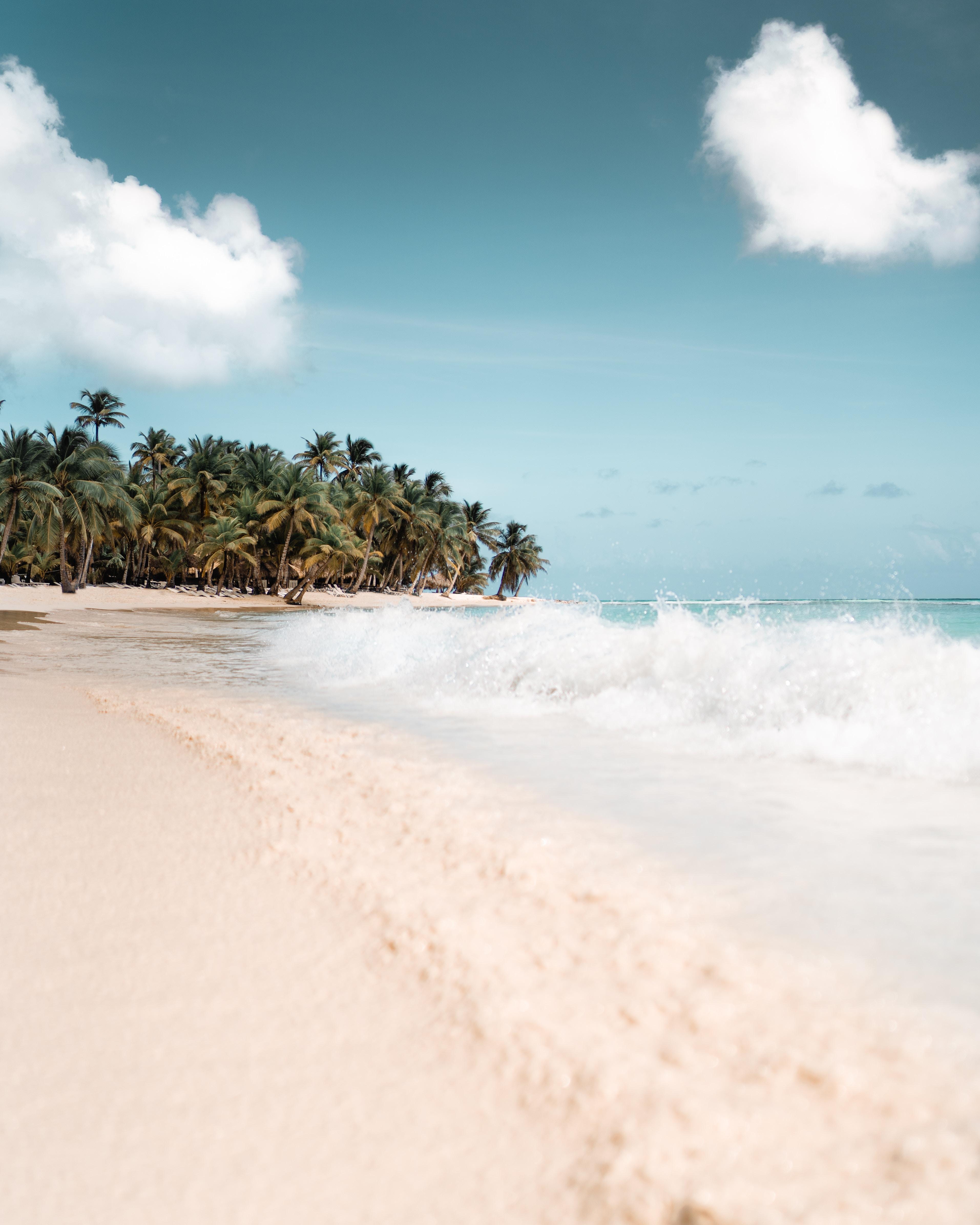 Kreuzfahrt über Weihnachten Karibik Strand