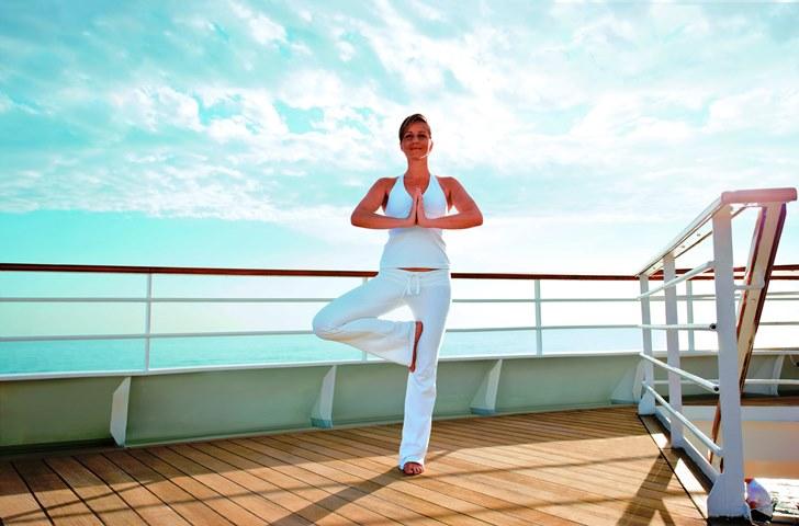 Yoga Kreuzfahrt