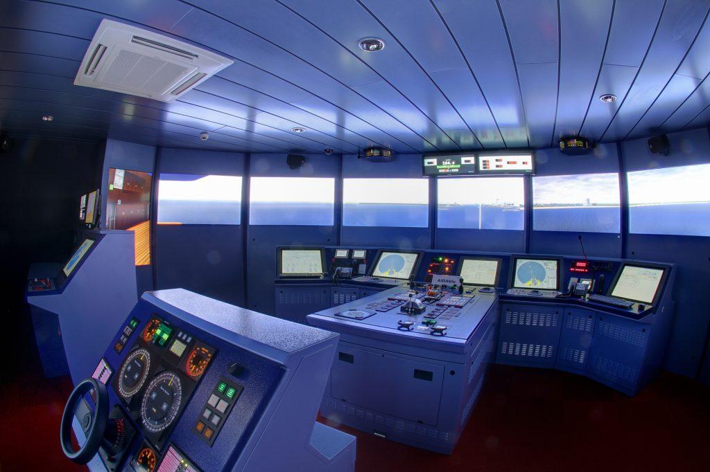 Kreuzfahrtschiff Simulator