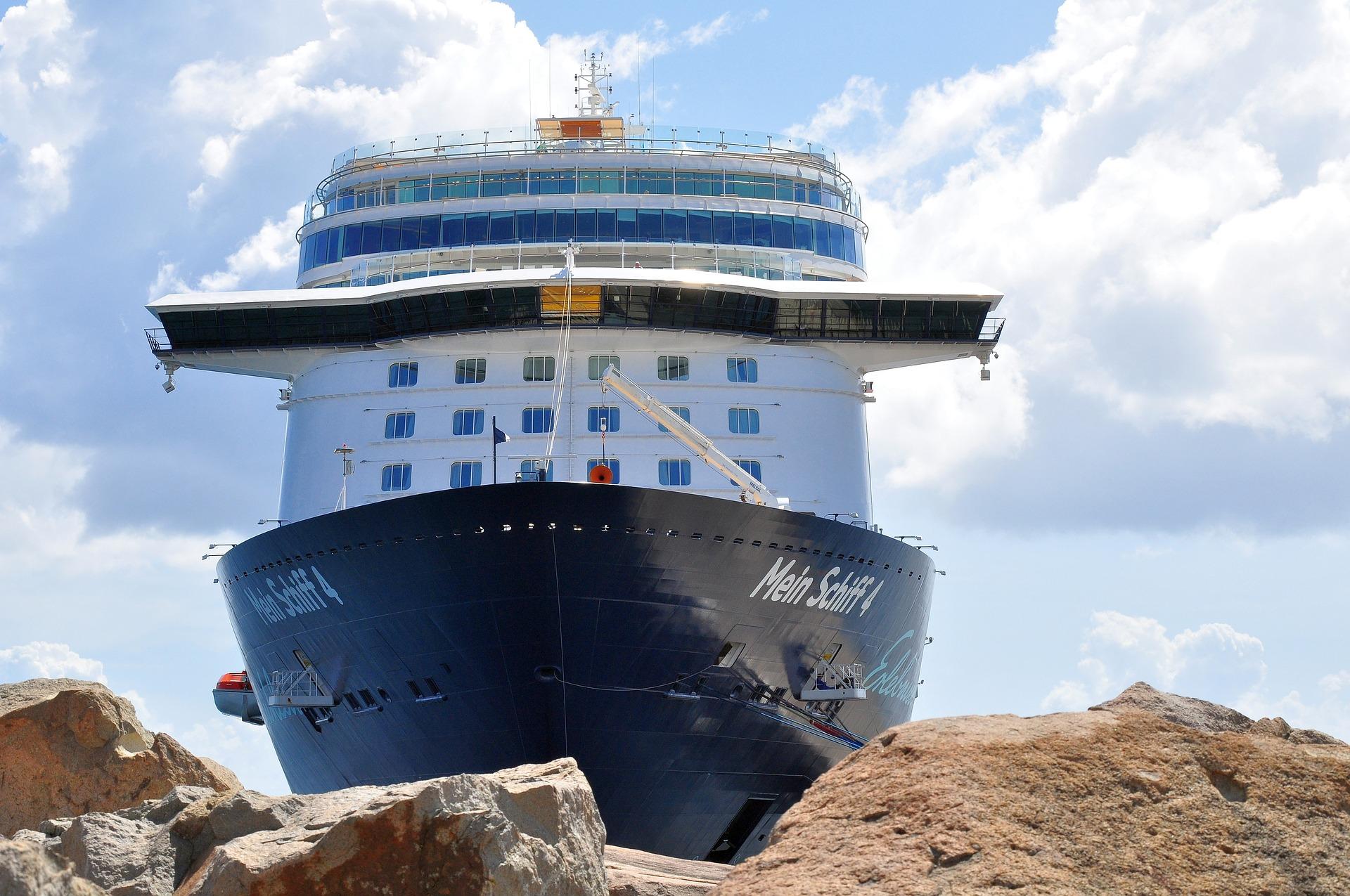 Blick auf die Mein Schiff 4