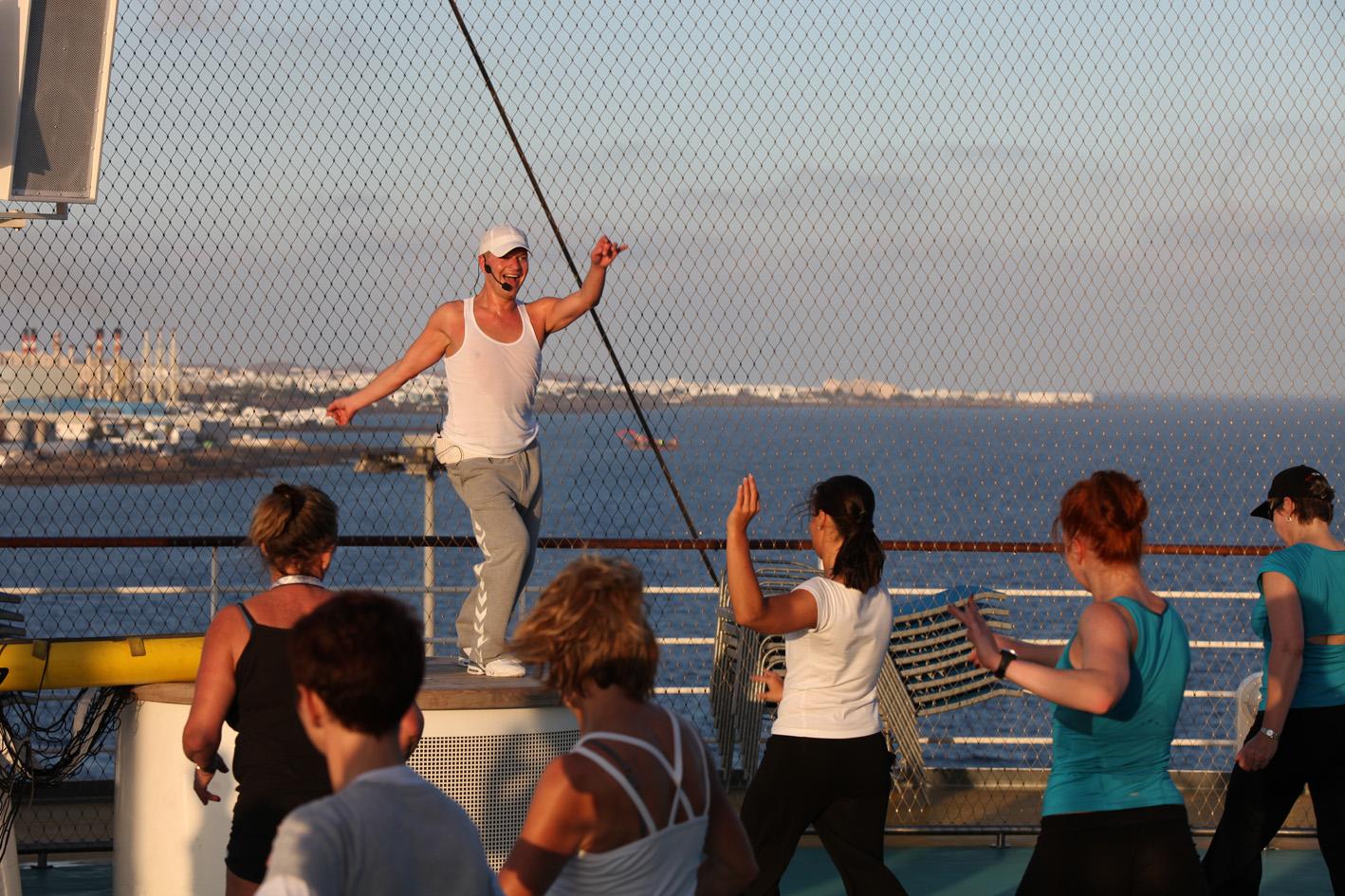 AIDA Fitnessstudio