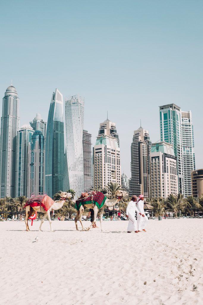 Dubai ist ein häufiges Ziel bei Kreuzfahrten im Orient