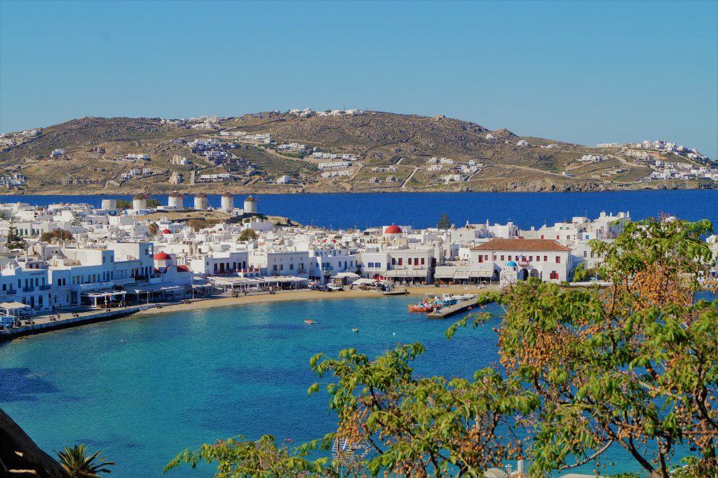 Küste von Mykonos