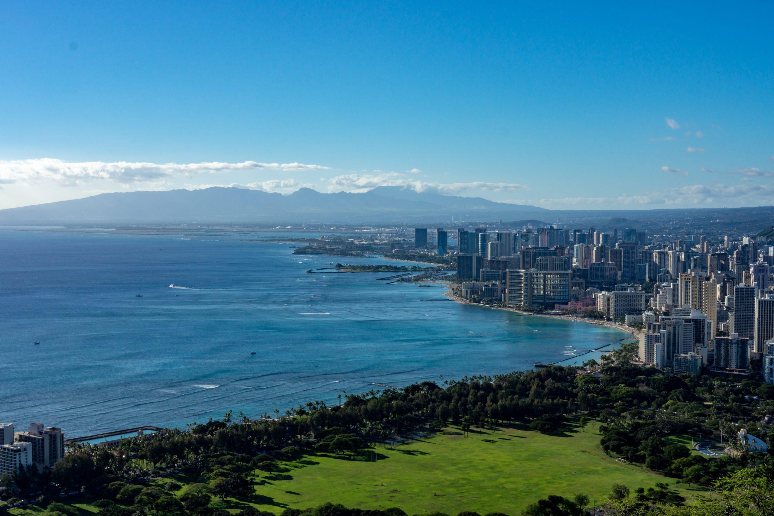 Küste von Honolulu