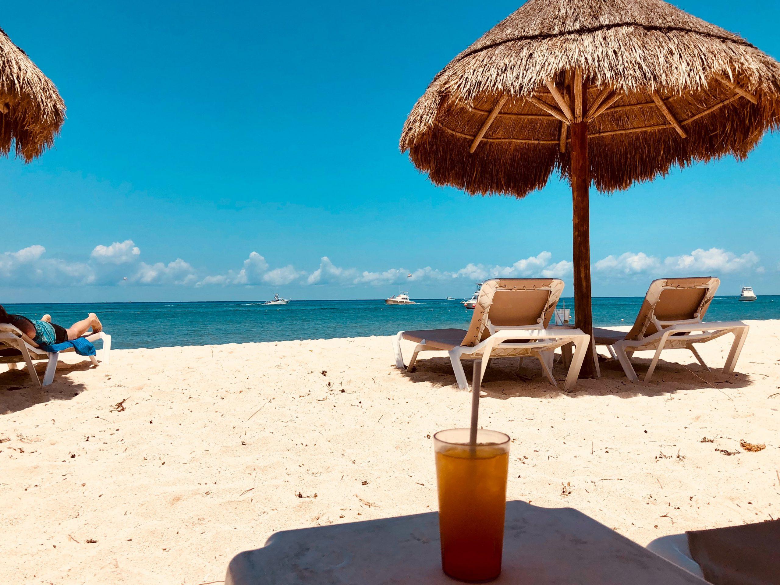 Strandtag in der Karibik