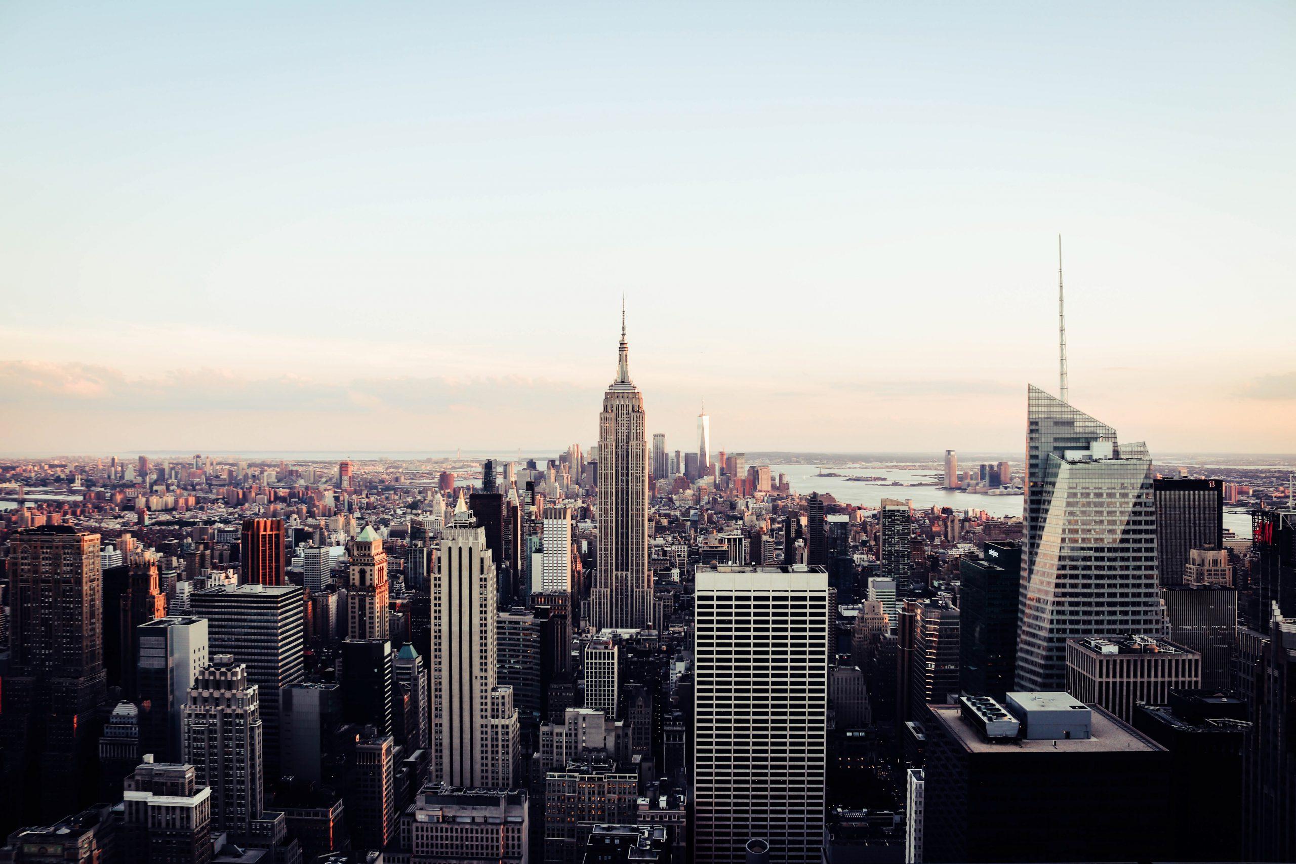 Sonnenaufgang in New York