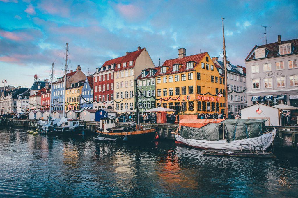 Schiffe in Kopenhagen