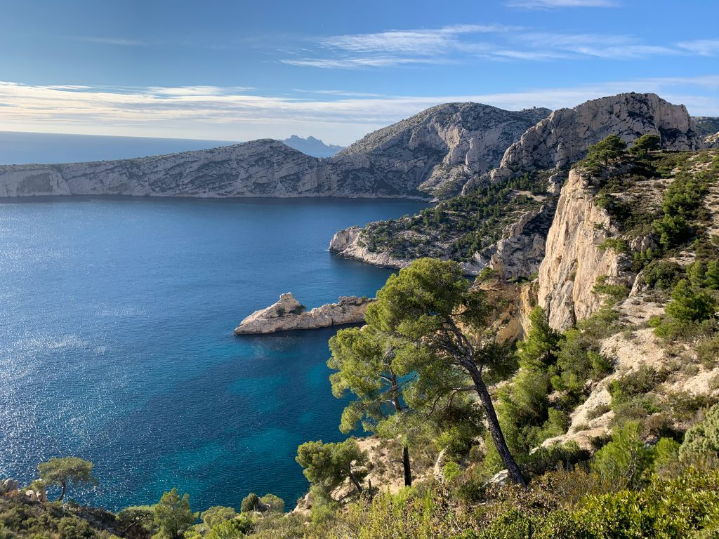 Küste von Marseille