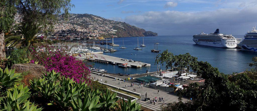 Hafen von Madeira