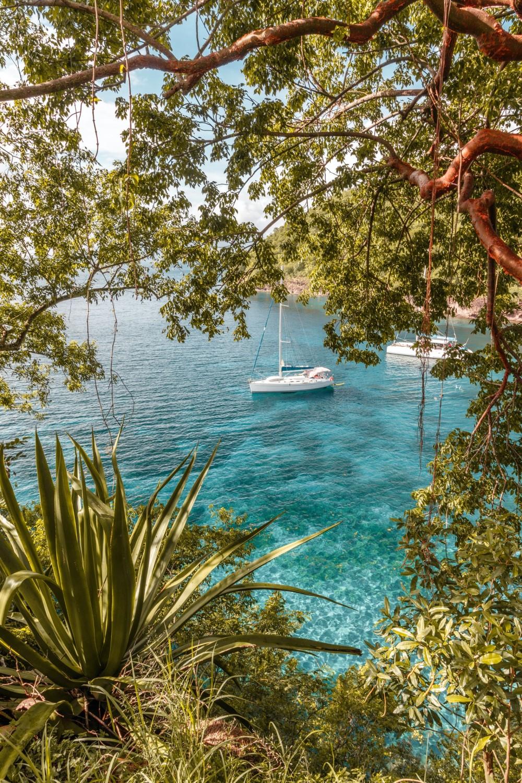 Bootsausflug in der Karibik