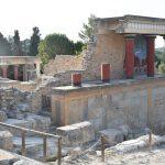 Ruinen vom Palast von Knossos