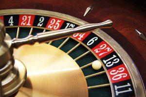 Eine Runde Roulette im Casino