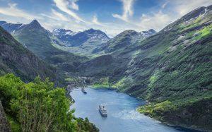Stornokabine - Norwegen